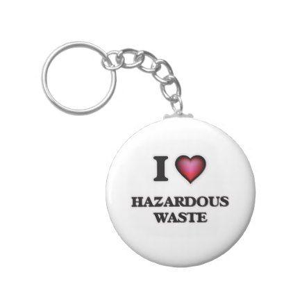 template - #I love Hazardous Waste Keychain template Pinterest