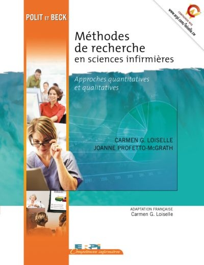 Methodes De Recherche En Sciences Infirmieres Approches Quantitatives Et Qualitatives Science Recherche Centre De Documentation