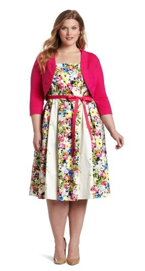 piniful.com plus size easter dresses (06) #plussizefashion | Plus ...
