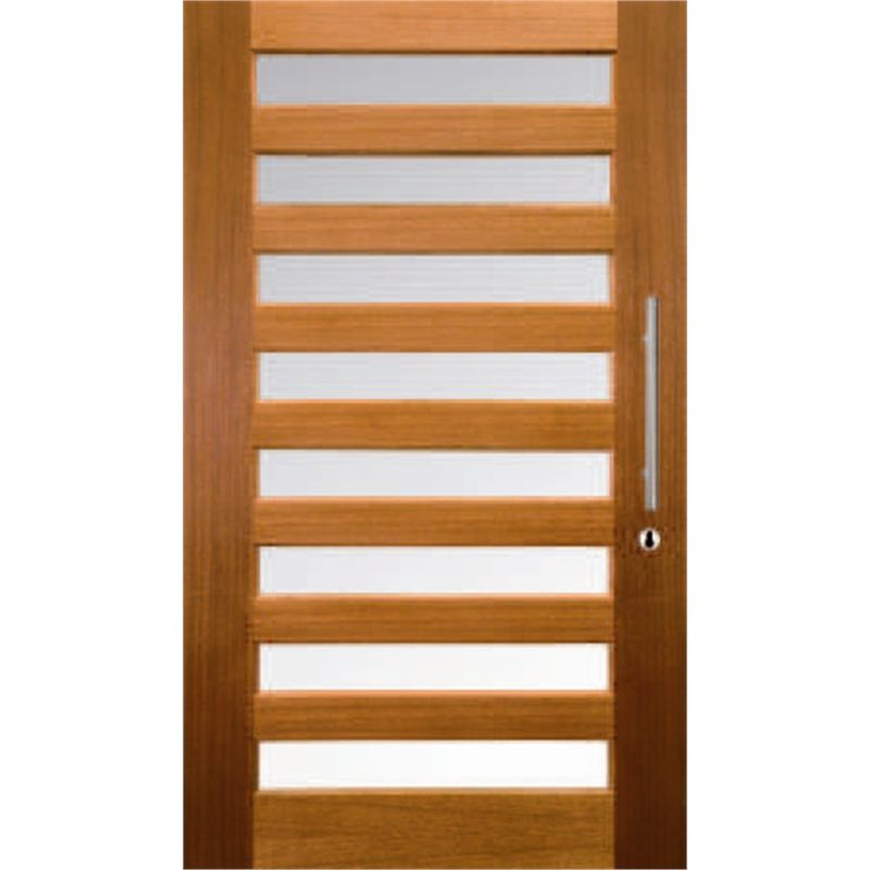 Bunnings Front Doors: Hume 2040 X 1200 X 40mm Savoy Clear Glass External Door