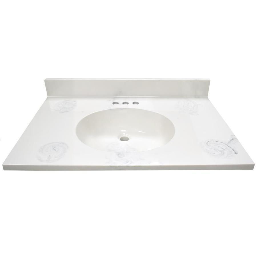 Us Marble Ambassador 25 In Dove Gray Engineered Marble Bathroom Vanity Top Af2522tdg In 2020 With Images Marble Bathroom Bathroom Vanity Tops Marble Bathroom Vanity