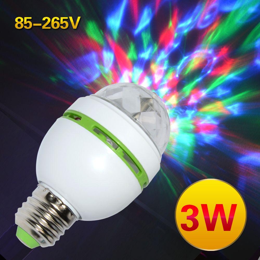 LED Red Bulb E27 Light 5W Lamp KTV Bar Party Home Decor Decorative Lighting