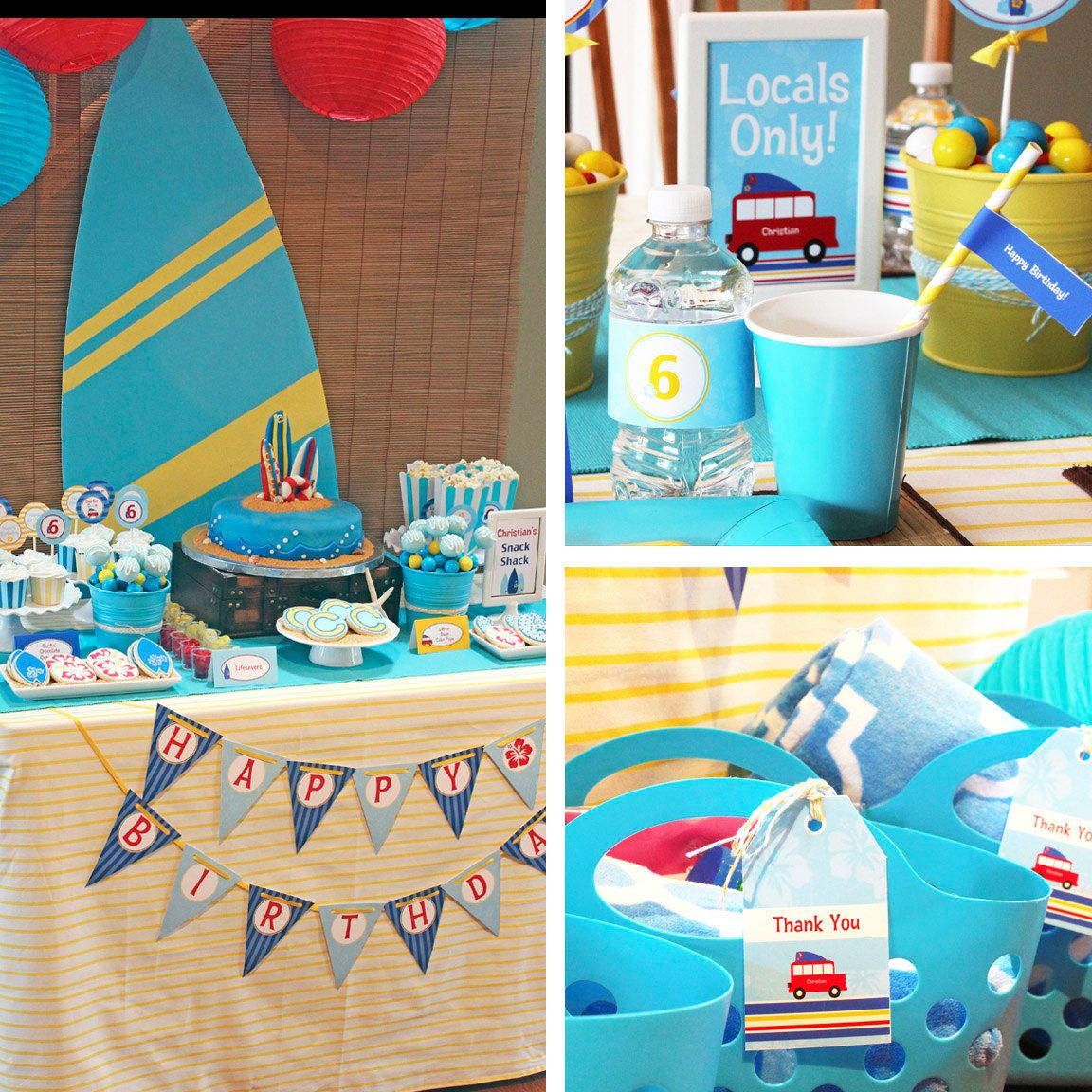 Surf's Up Birthday Cakes - Google Search