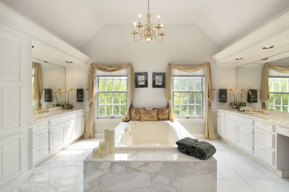 Bathroom Design Centers Extraordinary 24 Luxury Master Bathroom Designs With Centered Soaking Tubs Decorating Inspiration