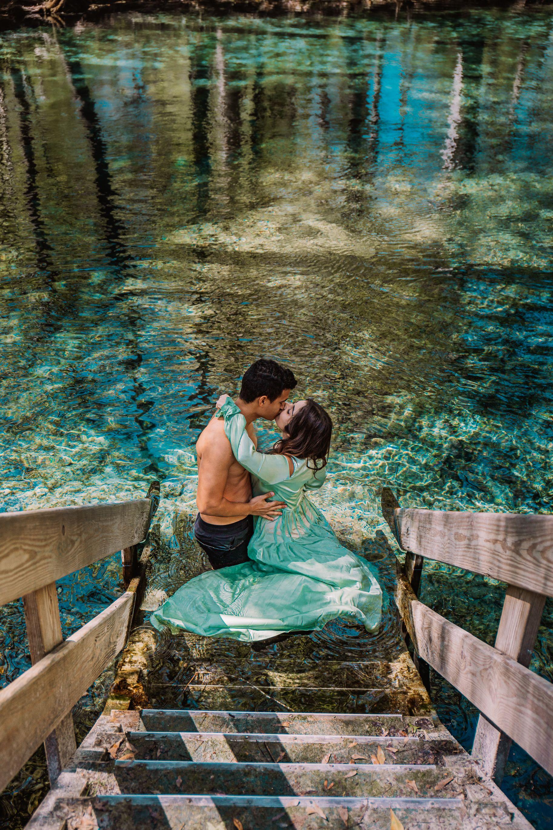 Ginnie Springs Fl Florida Vacation Trip Blue Water