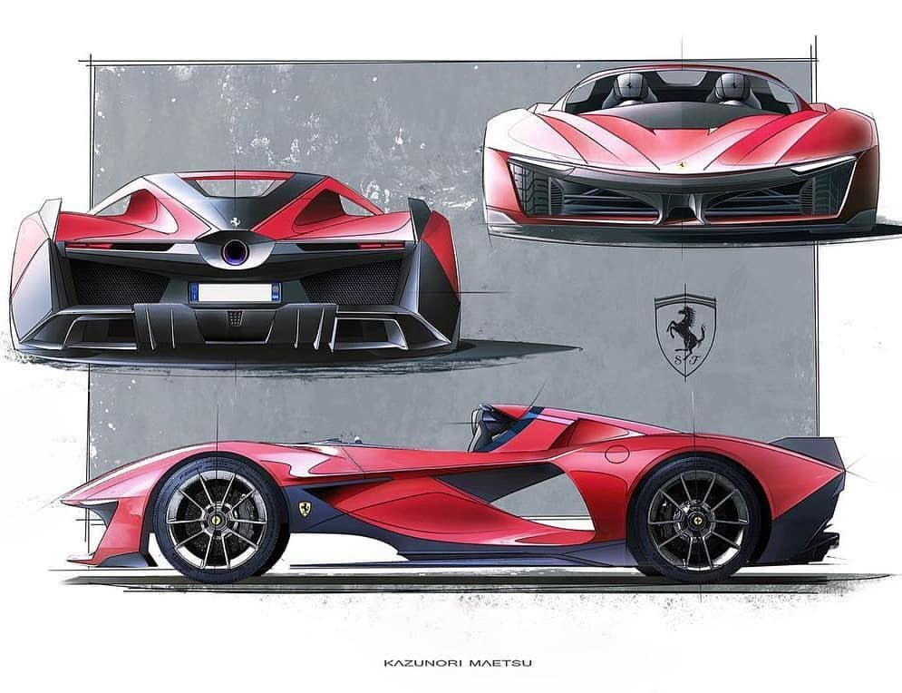 Pin By Kare On Concept Cars Ferrari Automotive Design Lamborghini
