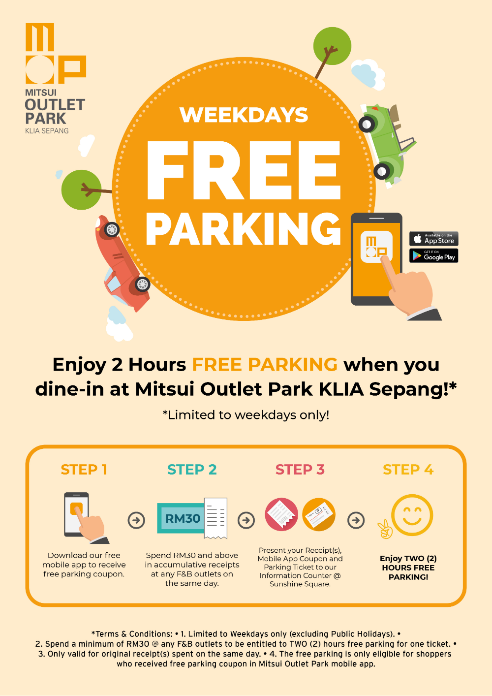 Pin By Billy Ponpon On Mall Retail Ad Design Ad Design Free Park Klia