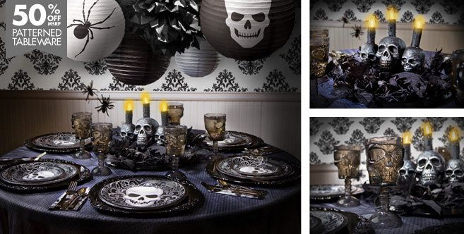 Fright Night Halloween Party Supplies - Party City#PARTYCITY AND - halloween decorations party