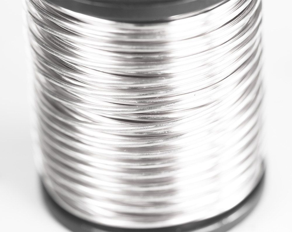 2180 Light Silver Wire 16 Gauge Jewelry Wire 1 25 Mm Soft