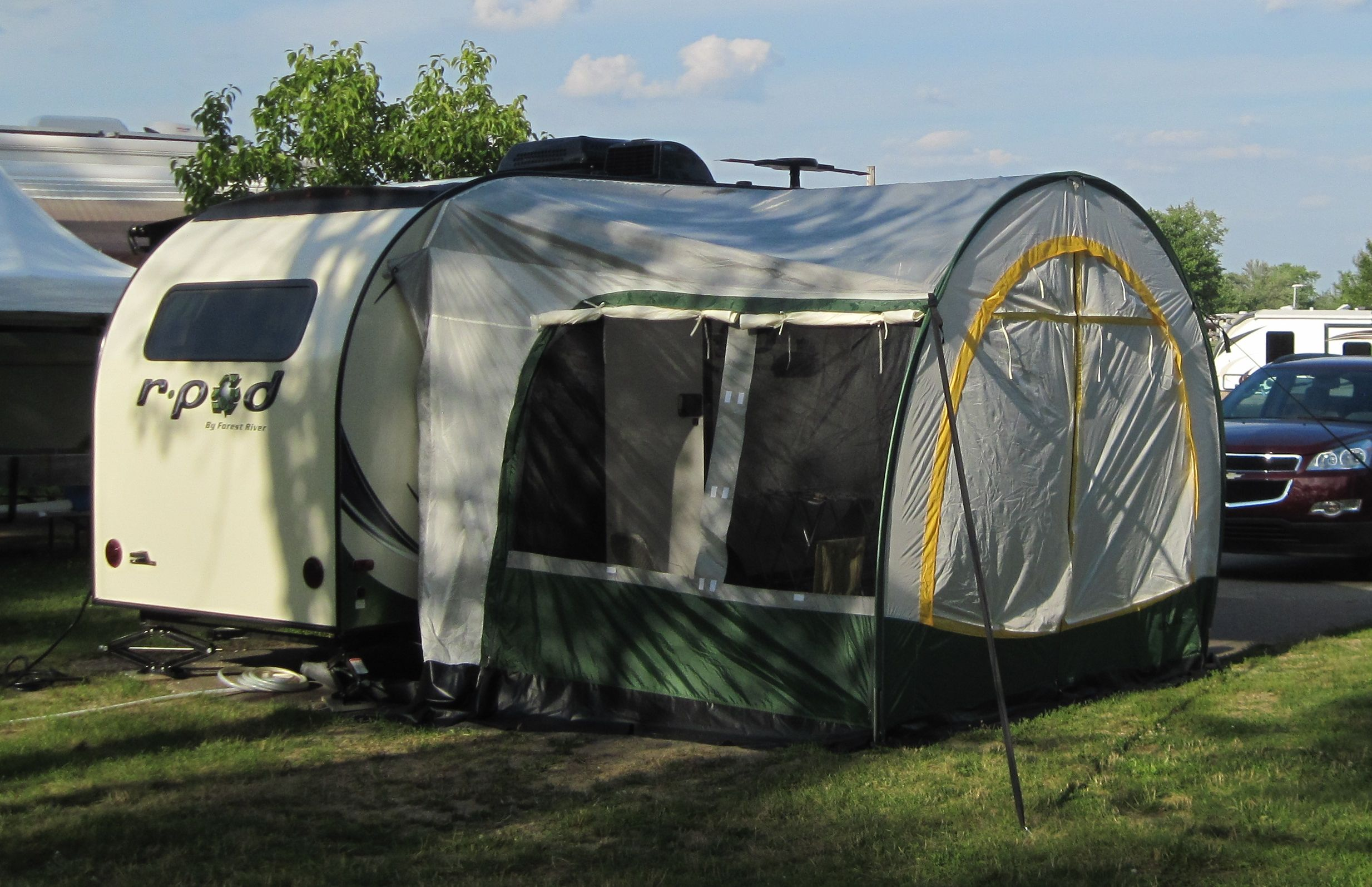 R Dome On The R Pod 179 With Images R Pod Outdoor Gear Pods