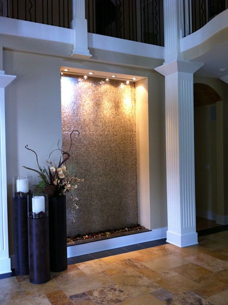 6 Impressive Indoor Water Feature Ideas Waterfall Wall Water