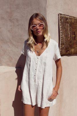 d0edc806e6 Summer-Linen-Playsuit-Buy-Online-Australia-Resort-Beachwear-Bridget ...