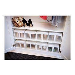 à chaussure Boîte a IKEA SKUBB chaussures blancBoite kZwOuPXiT