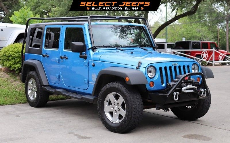 2010 Surf Blue Jeep Wrangler Unlimited 18995 Blue Jeep Wrangler