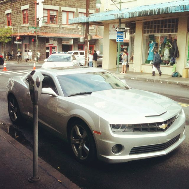 Hawaii Five-O (Danno's Car) Filming In Chinatown Today.