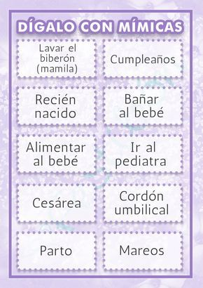 Best Juegos Para Baby Shower Mixto 2014 Image Collection
