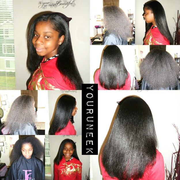 Natural Hair Pressed Out Flat Iron And Silk Wrap Natural Hair Styles Braid Styles Hair Beauty