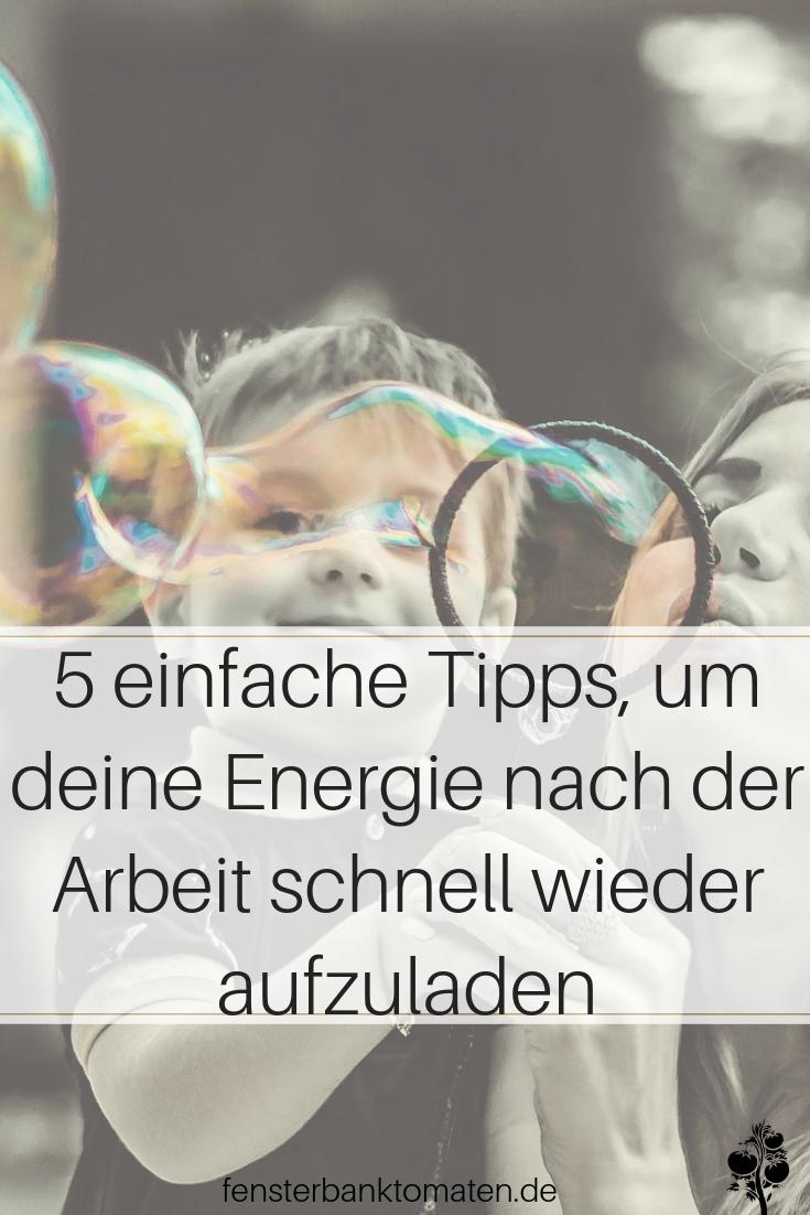 Lade deine Energie nach der Arbeit schnell wieder auf - 5