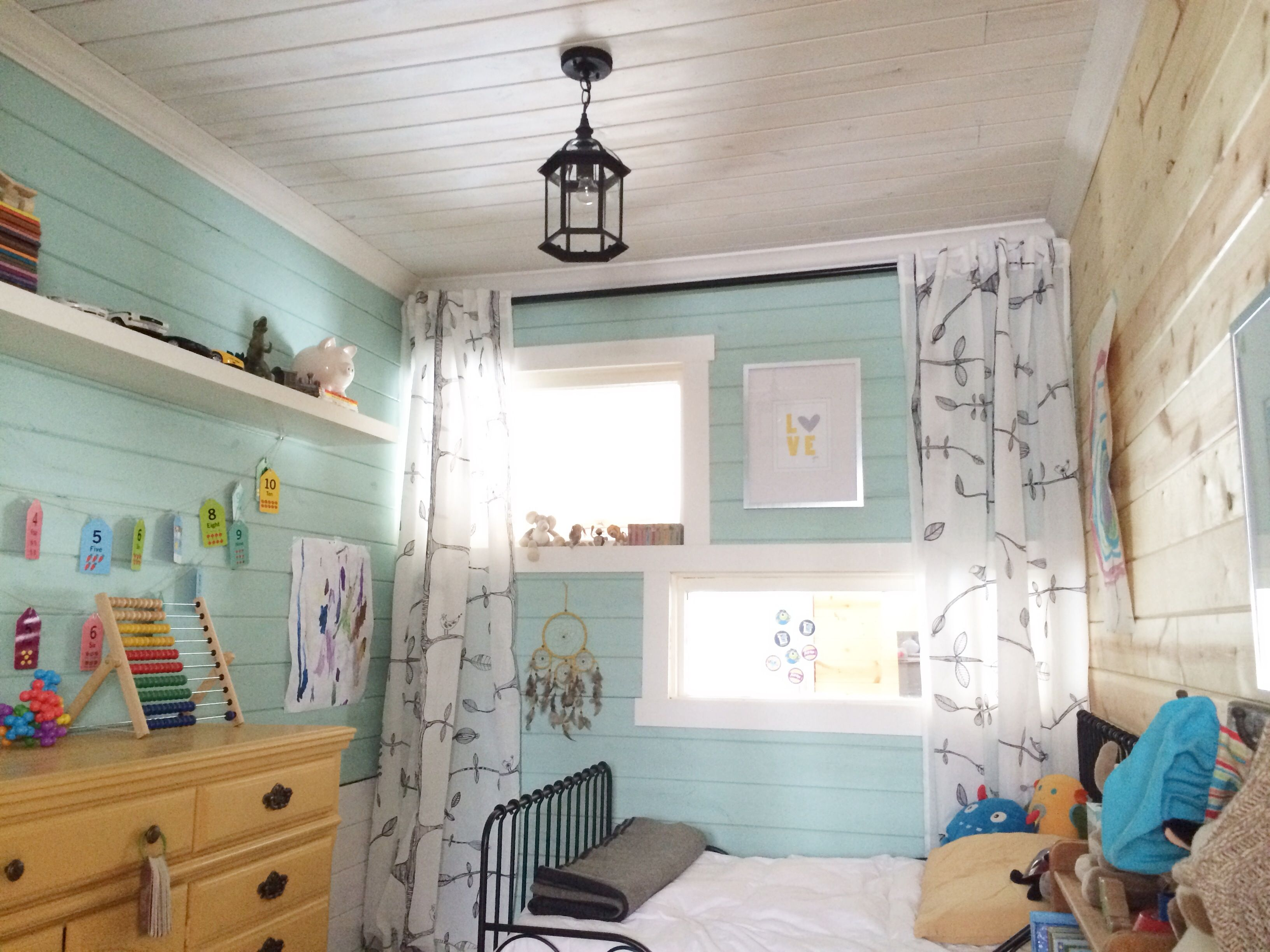 Turning a Small Laundry Room Into a Bedroom: Part 19 Before & After