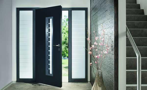 Porte Dentrée Aluminium Portes Pinterest Front Doors And Doors - Porte d entrée alu pas cher