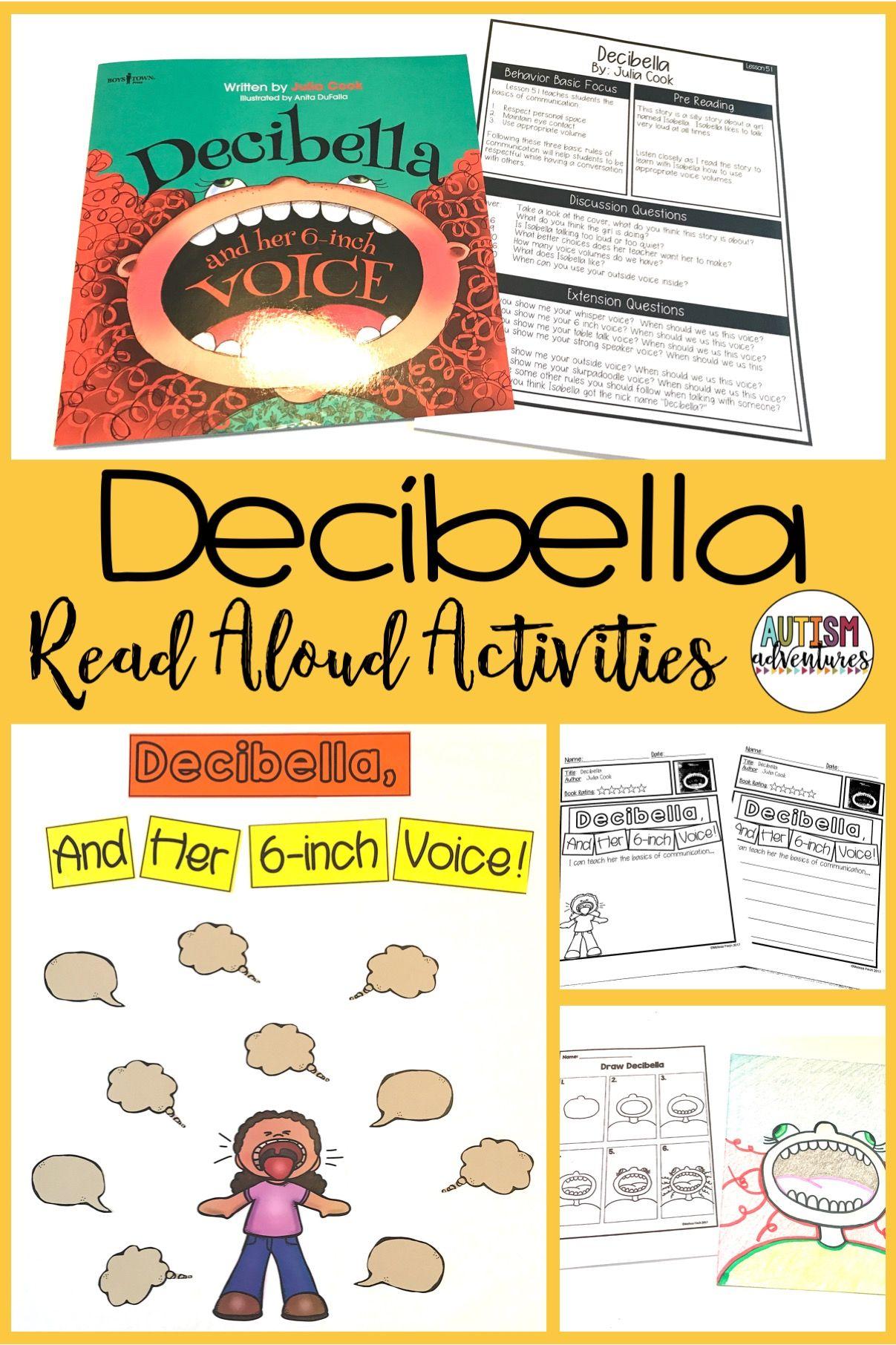 Decibella behavior basics book club read aloud