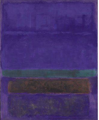 Mark Rothko, Untitled [Blue, Green, and Brown],1952 (alternatively dated to 1951), Collection of Mrs. Paul Mellon, Upperville, Virginia