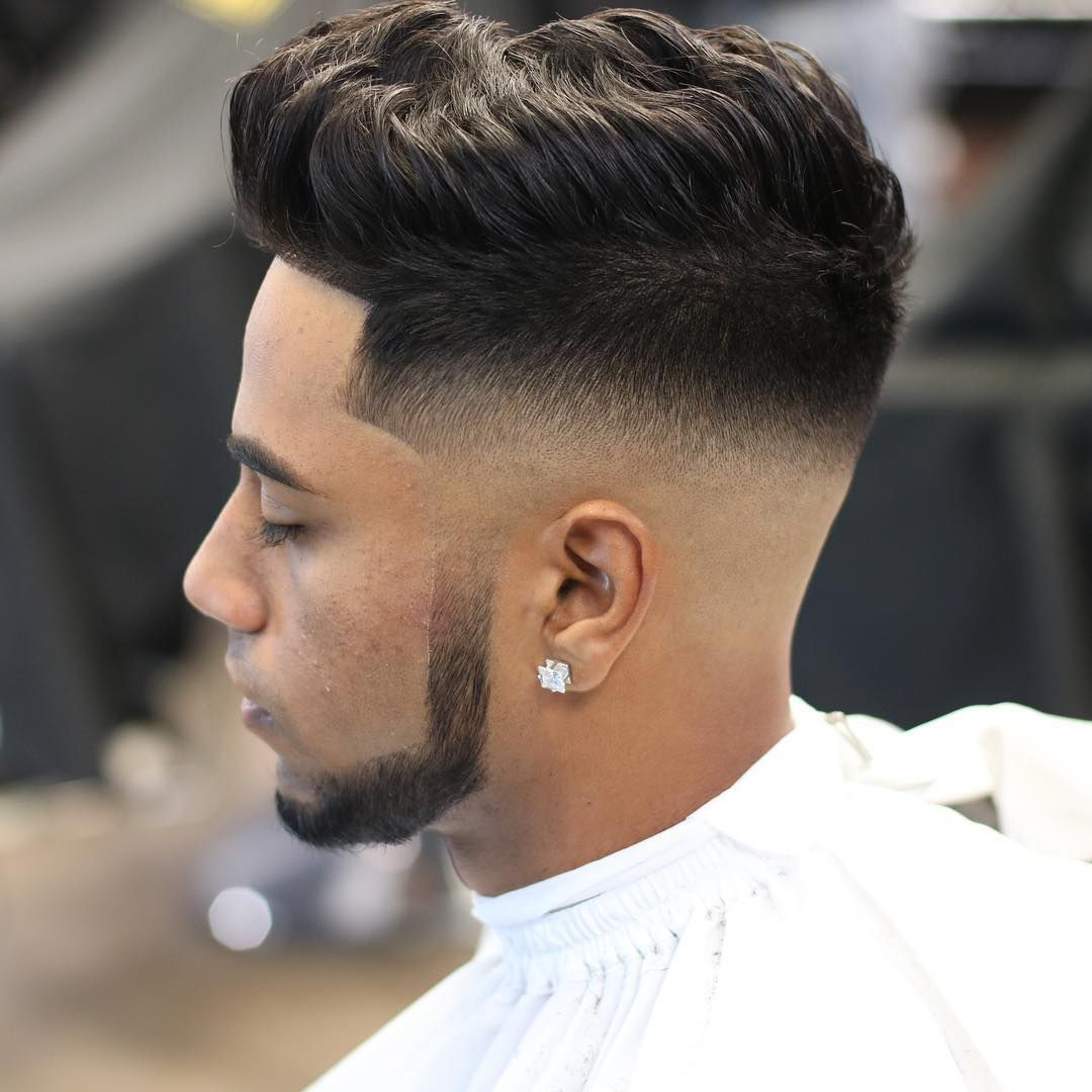 Mid Skin Fade Mid Fade Haircut Fade Haircut Medium Fade Haircut