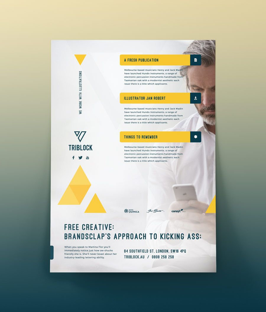 Free Flyer Template Download This Free Flyer Templates For Both Personal Commercial Use Poster Psd Graphic Design Free Download Flyer Print Media