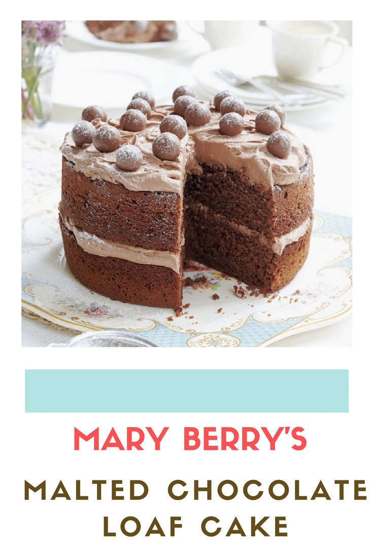Mary Berry: Malted Chocolate Cake recipe