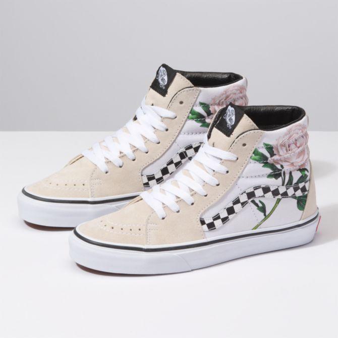 Vans - Size 10 W | Vans shoes, Floral shoes, Vans shoes high tops