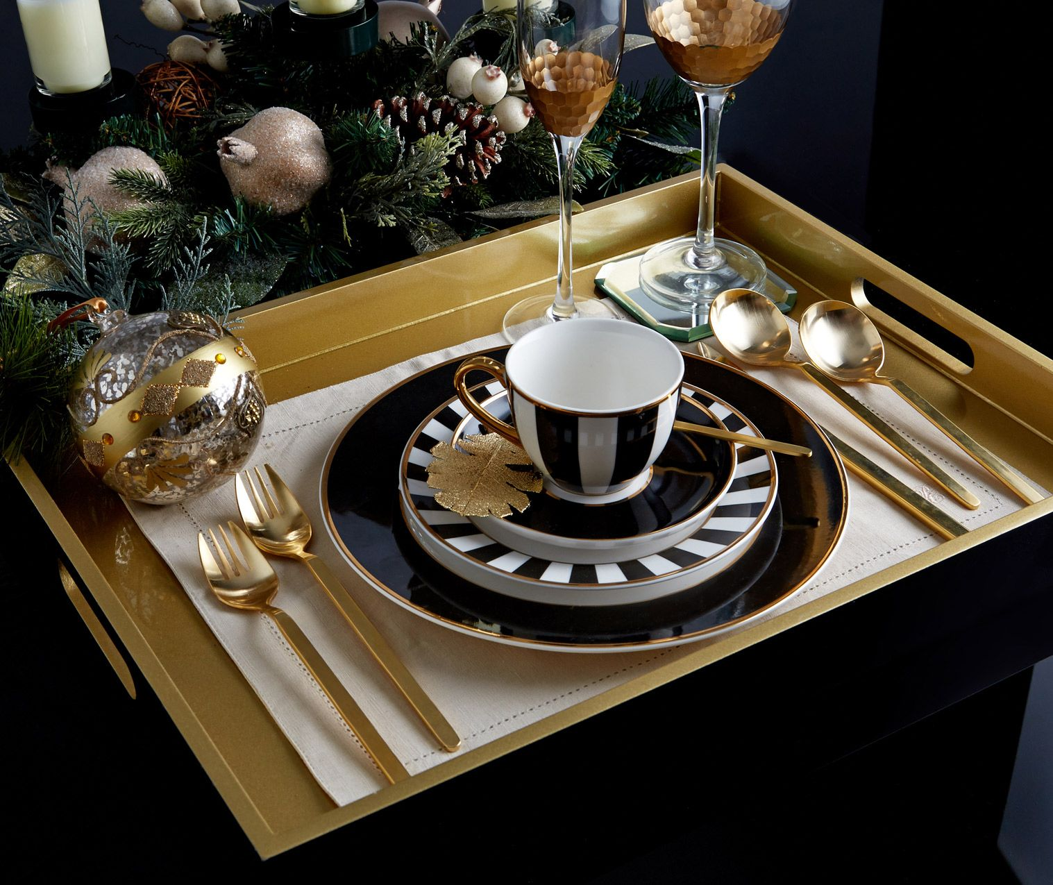 Dunnes Store Christmas Decorations: Luxury Tableware By Paul Costelloe Living, Exclusively At