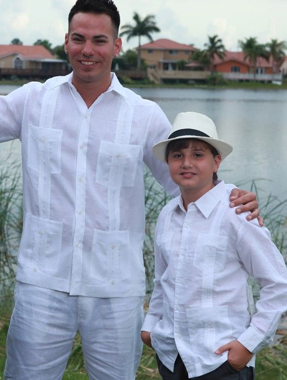 Guayabera Short Sleeve Cuban Fashion Pinterest