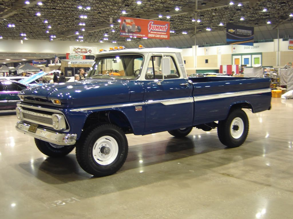 Pickup 61 chevy pickup : 60-66 Chevy And GMC 4X4's Gone Wild - Page 10 - The 1947 - Present ...