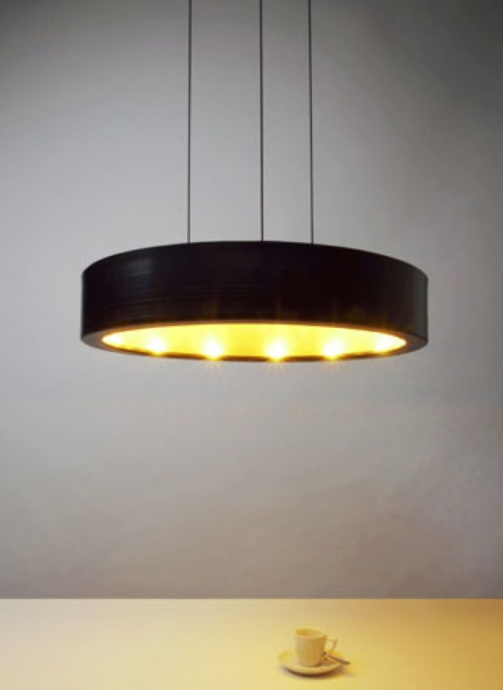 "Anta"" black suspension lamp"