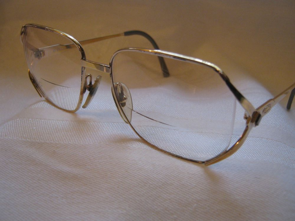 db388a1c9ebe CHRISTIAN DIOR Vintage Women s Square Eyeglasses Gold Metal Gray Frames  Germany  fashion  clothing  shoes  accessories  vintage  vintageaccessories  (ebay ...