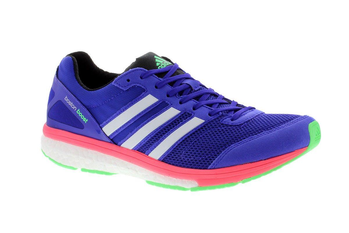 Adidas adiZero Boston Boost 5 Blau | Damen Laufschuhe ...