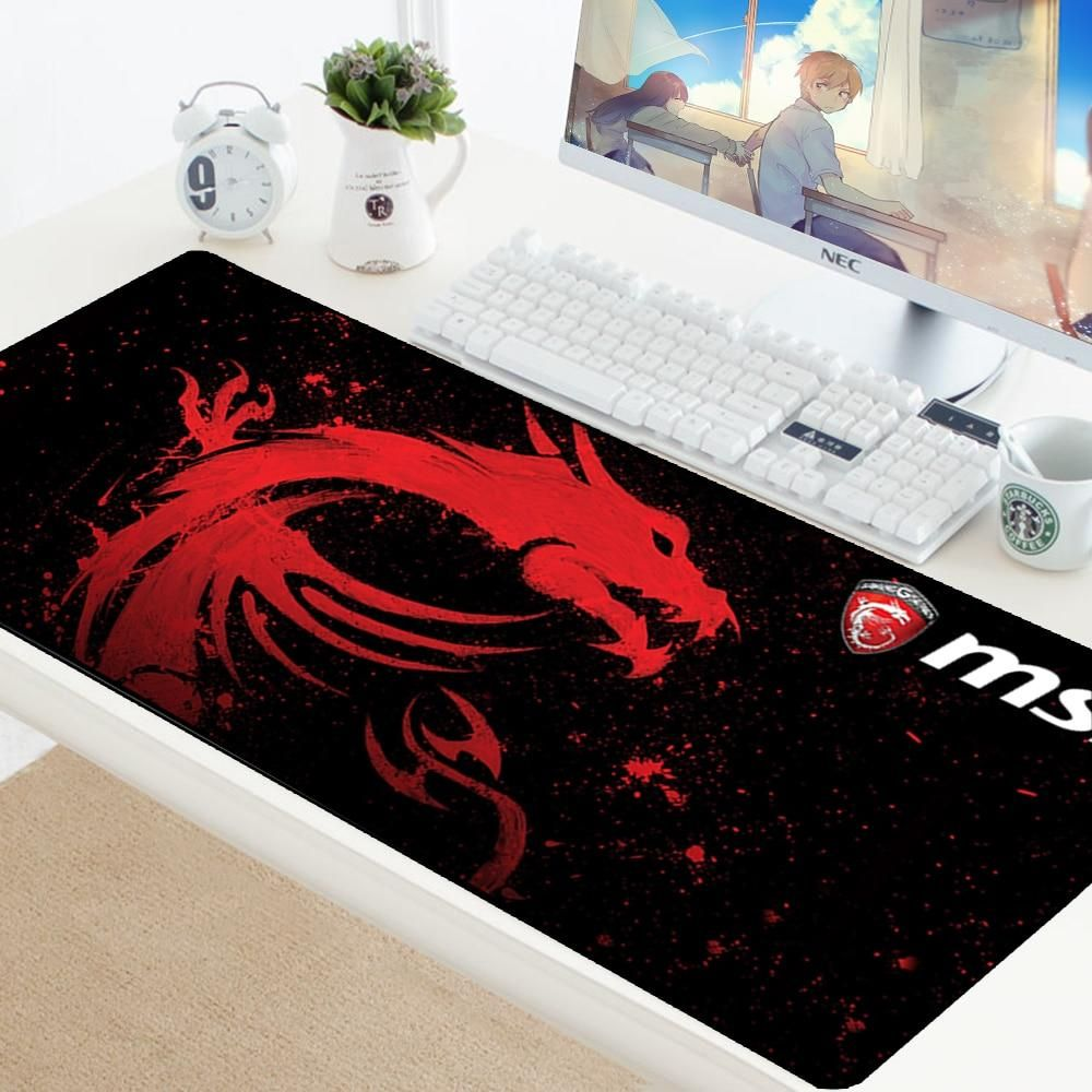 Large Mouse Pad Professional Gaming Mat Non Slip Computer Desktop Laptop Dragon