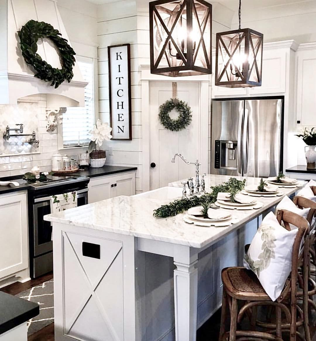 1 181 likes 15 comments jill gatheredgracedecor com on best farmhouse kitchen decor ideas and remodel create your dreams id=52572