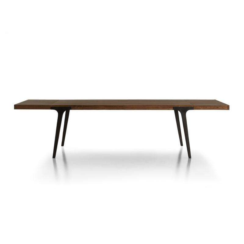 Lakin Recycled Teak Extendable Dining Table Crate And