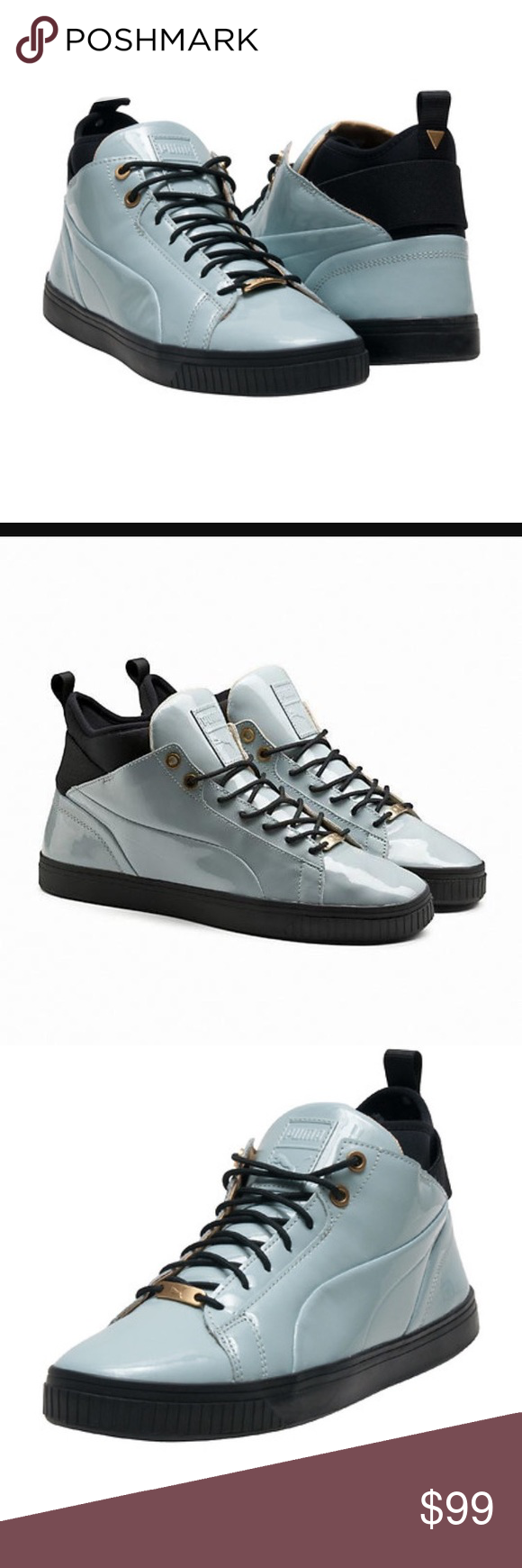Puma Play Nude Mens Grey