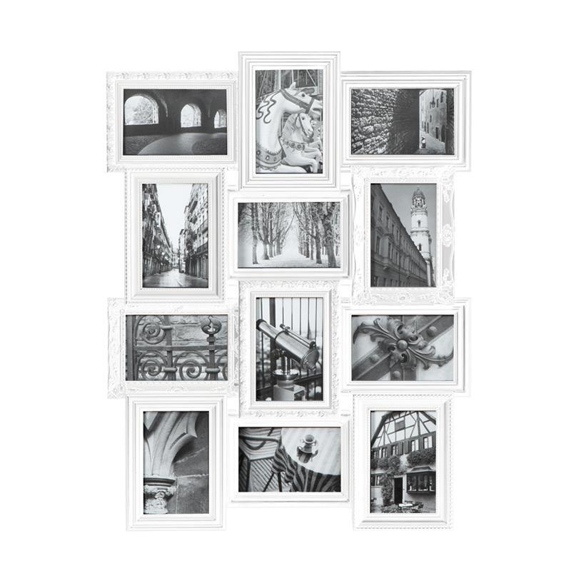 nexxt revet wall collage frame 20 x26 4 x6 x12 white kitchen