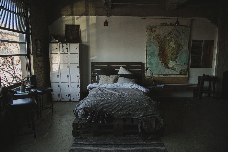 Kocher Bed frame Bed frame, Queen size bed frames, Bed