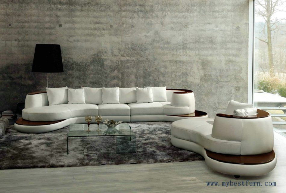 Free Shipping Luxury Villa Sofa Set And Longue Furniture Model