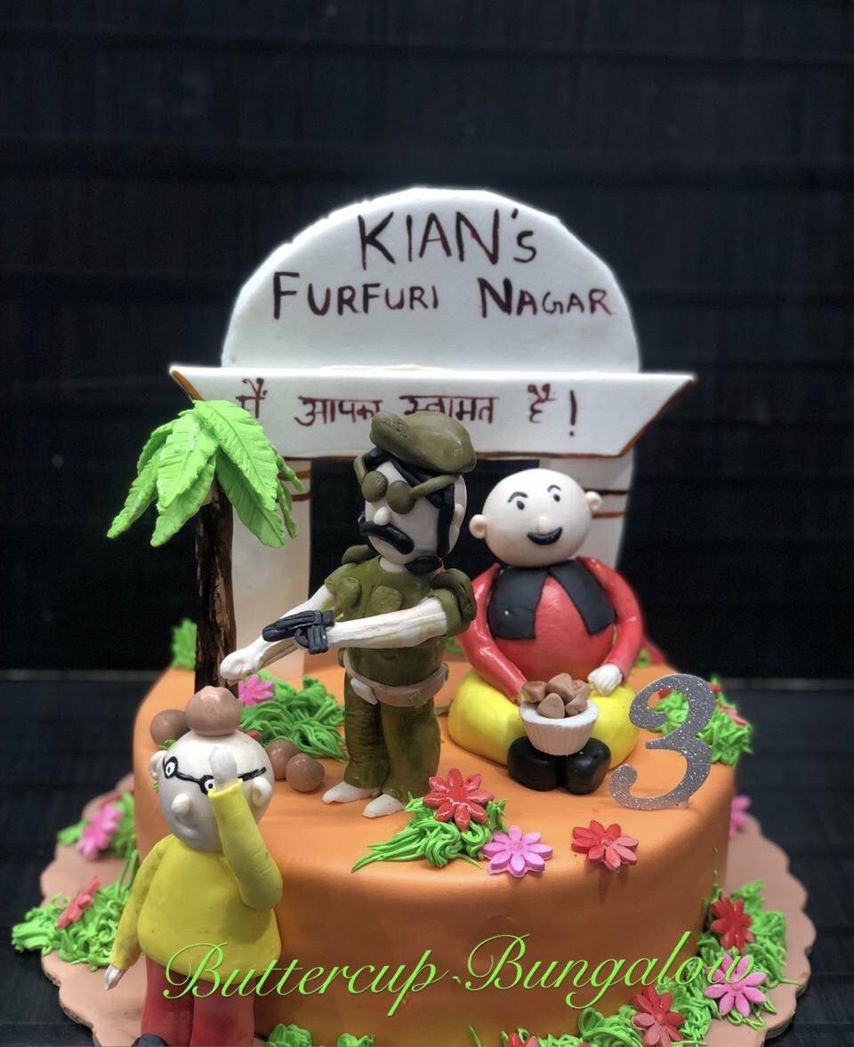 Motu Patlu Cake Cake Cake Designs Birthday Cake