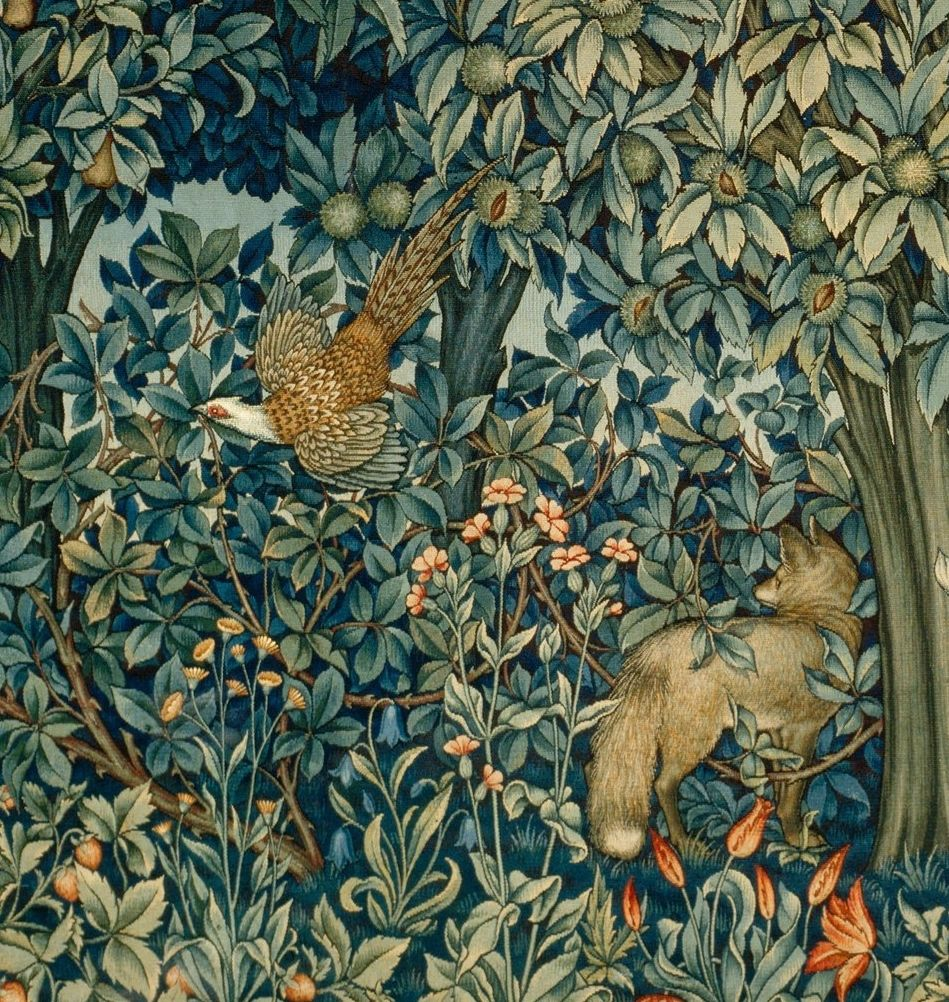 Tapestry Designed By John Henry Dearle And Manufactured By