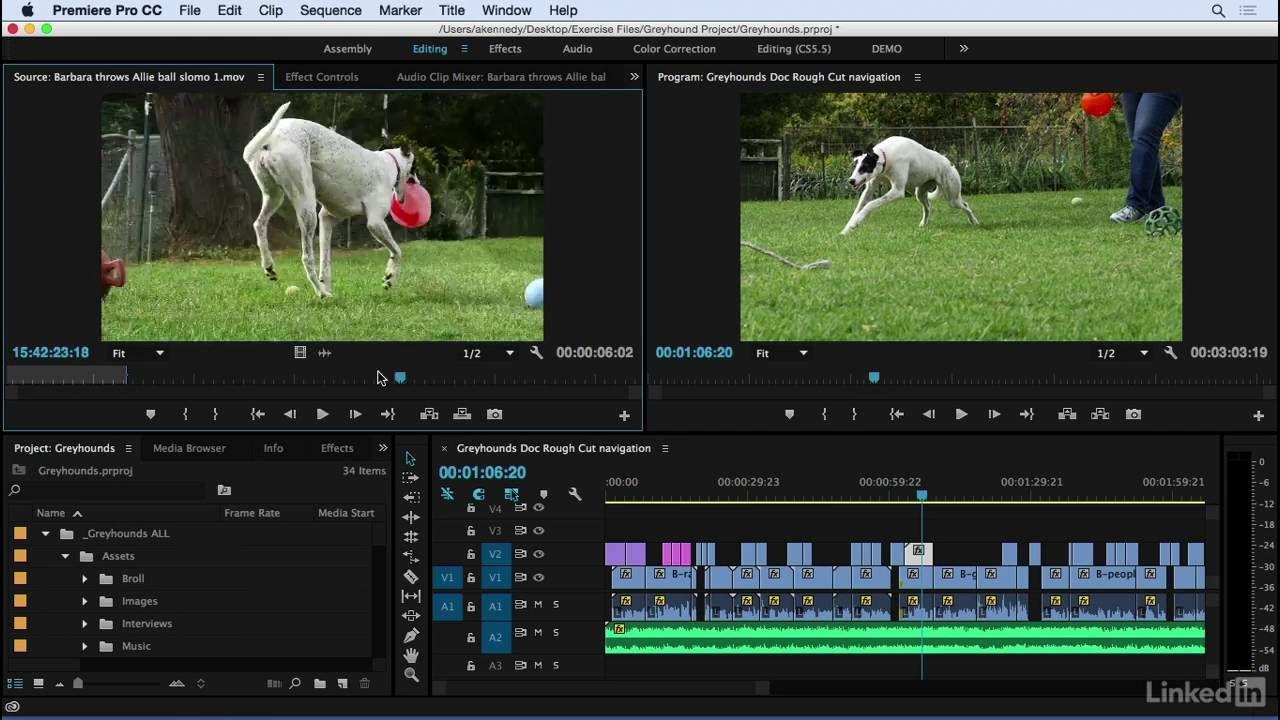 Adobe premiere pro cc 2015 tutorial 036 timeline