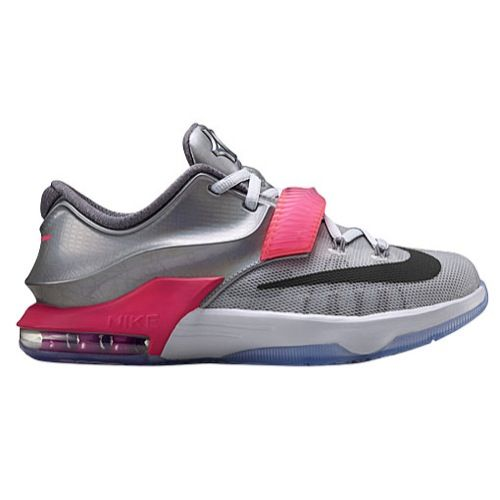 fb95d270ce9a Nike KD 7 - Boys  Grade School - Basketball - Shoes - Pure Platinum Multi  Color Black