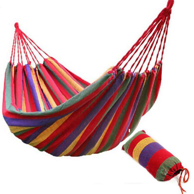 outdoorindoor camping canvas singledouble hammock swing red 78745906    continue to the product at the image link  tela de lona ocio al aire libre que viaja que acampa paraca  das      rh   pinterest