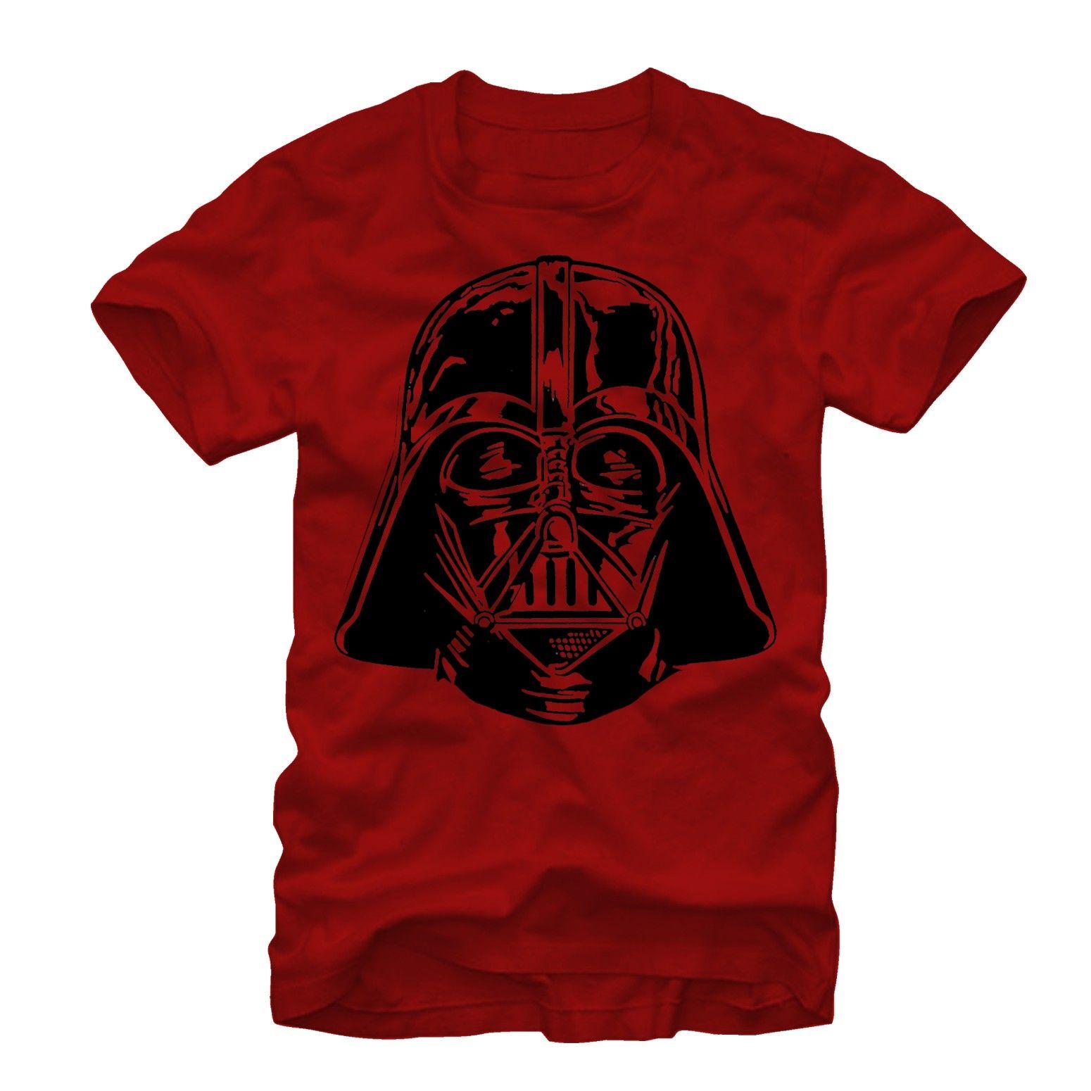 Star Wars Men/'s Darth Vader Helmet T-Shirt