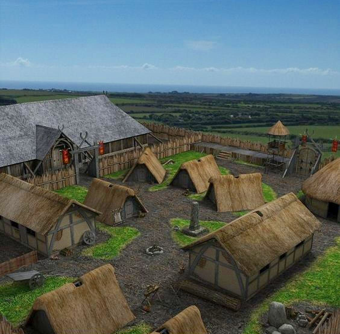 Viking Saxon Settlement In Danelaw England